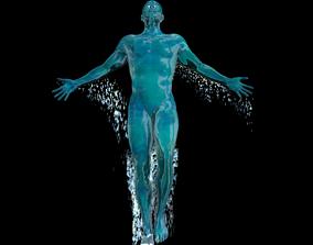 Water man 3D