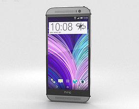 3D model HTC M8 Gray