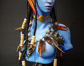 Neytiri Avatar Bust - Base file without 3D print model
