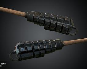 Baldari Grenade - WWI Grenade Series Game Ready 3D asset
