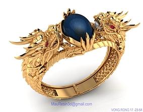 bracelet dragon 3d model luxury