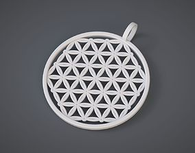 Flower of Life Pendant 3D print model