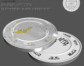 3D print model 5th Seal of Luna