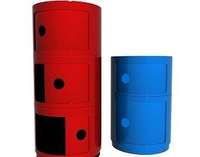 3D model kartell componibili storage unit