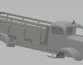 Mercedes L5000 Printable Truck