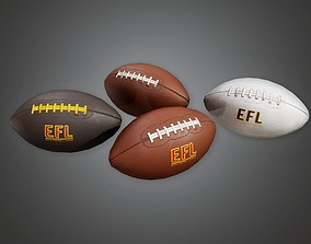 Football 01a - Sports And Gym 3D model