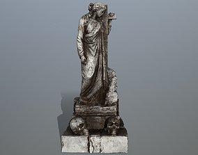 3D asset statue 5
