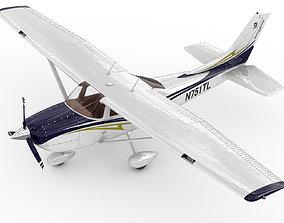 3D model Cessna 182 Skylane