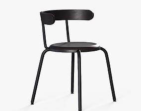 YNGVAR Chair beech veneer 3D asset