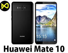 Huawei Mate 10 Black 3D model
