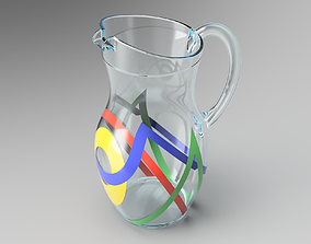 3D model Glass Carafe architecture