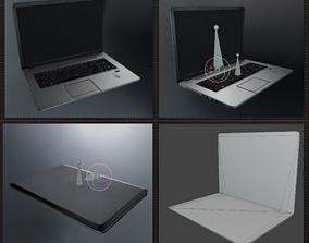 Lowpoly Notebook Blender-29 Version 3D model