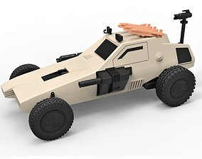 Diecast model Dune buggy from movie Megaforce 1982 4