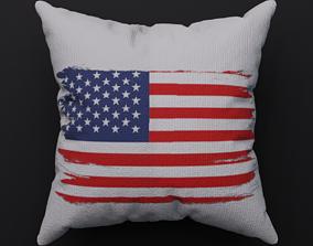 Pillow - USA - PBR 3D asset