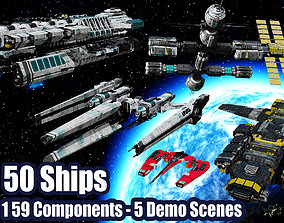 3D model The Big Spaceship Builder