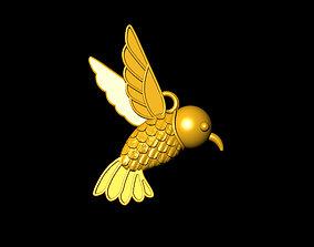 Bee Necklace - Hummingbird 3D print model