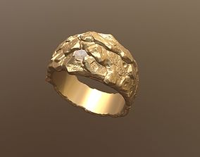 Golden Ring art 3D printable model