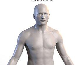 Man body basemesh 3D asset