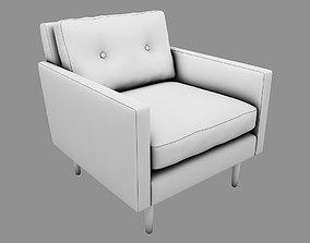 Armchair UP restaurant interior 3D model