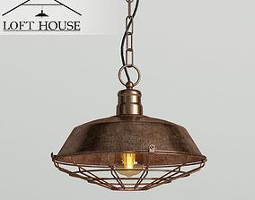 3D Hanging lamp LOFT HOUSE P-114