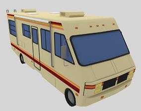 3D asset RV - Low Poly