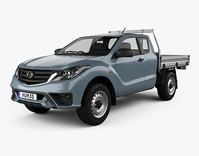 Mazda BT-50 Freestyle Cab Alloy Tray 2018 3D