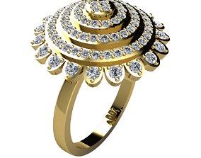 Woman Ring 3d Pring Model