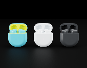 3D OnePlus Wireless EarBuds In All Official Colors