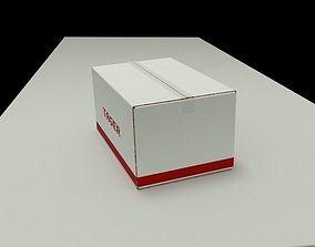 EMS box 3D asset