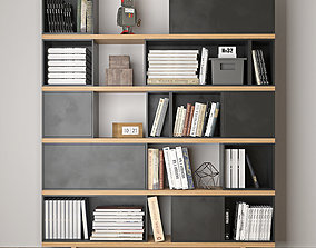bookcase office 3D model