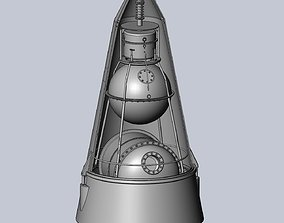 Sputnik 2 Laika Capsule Cutaway And Assembly Printable