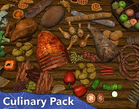 Culinary Pack 3D model