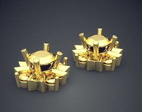 Earrings CAD-4952 3D print model