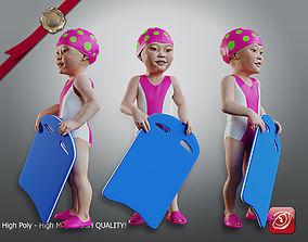 3D model Swimmingpool Child Female AAS 0203 010