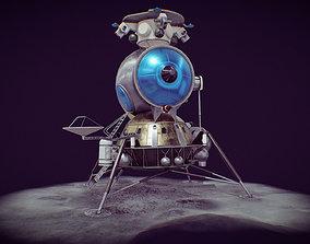 3D model LK - Soviet Lunar Lander