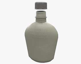 3D model Military Flask