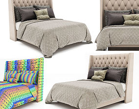 fabric Bed collection 3D model