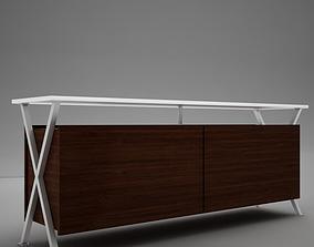 3D model Modern Dining Room Buffet Table
