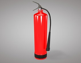 low-poly Fire Extinguisher Cylinder 3d Modeling