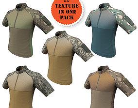 Condor Outdoor Short Sleeve Combat Shirt Low 3D asset 2