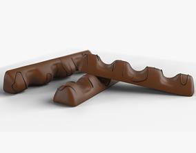 3D model Kinder Bueno Chocolate Bar choco