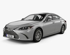 Lexus ES 300h 2019 3D model