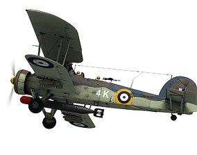 3D model Fairey Swordfish
