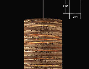 3D model TabithaBargh CartOn C2 lamp