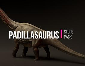 Padillasaurus Asset Pack 3D model