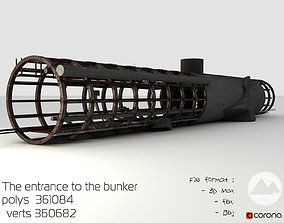 The exit from the bunker 3D