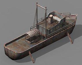 Different dimension - ship ruins 01 3D model