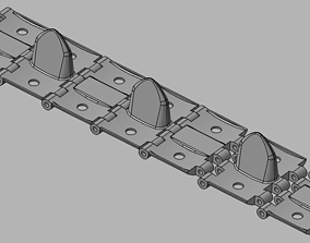 3D printable model Worktable Late type tracks for Bt-5 or