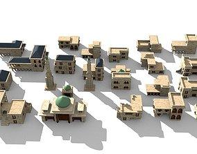 3D model 20 arabian building