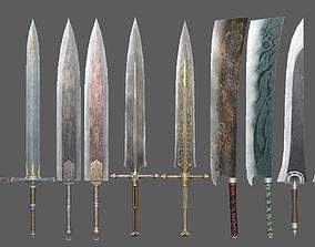 weapon sword other 3D model game-ready